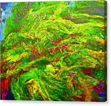 Anew Canvas Print by Michael Durst