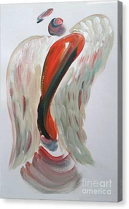 Angel Of Joy Canvas Print by Tracy Ann Delfar