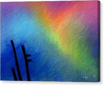 Angel Afternoon Canvas Print by Angela Treat Lyon