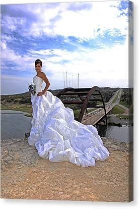 Angel Bridal I Canvas Print