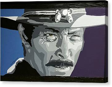 Angel Eyes In The Good, The Bad, The Ugly Canvas Print
