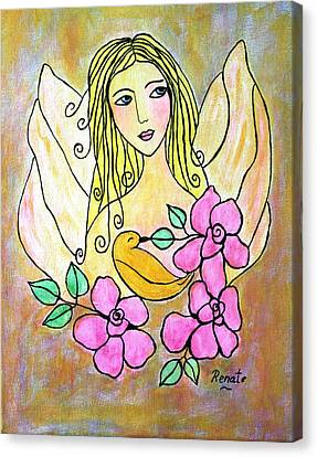 Angel-face Canvas Print