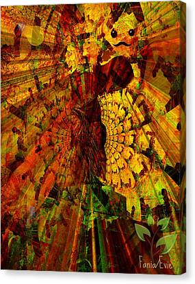 Faniart Canvas Print - Angel by Fania Simon