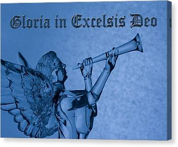 Angel Gloria In Excelsis Deo Canvas Print by Denise Beverly