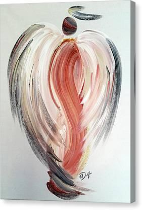 Angel Grace Canvas Print by Tracy Ann Delfar