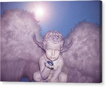 Angel-heart Canvas Print by Ramon Labusch