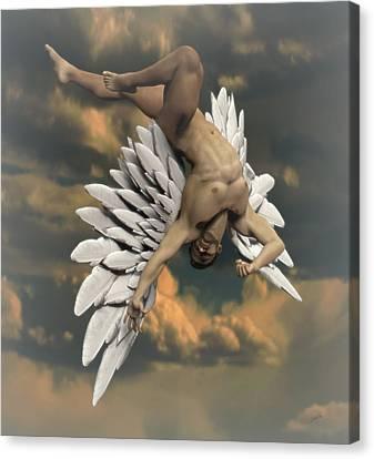 Angel Icarus Canvas Print