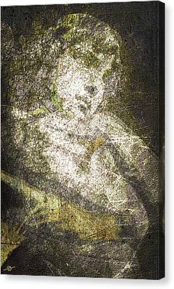 Angel In Bronze And Copper Canvas Print