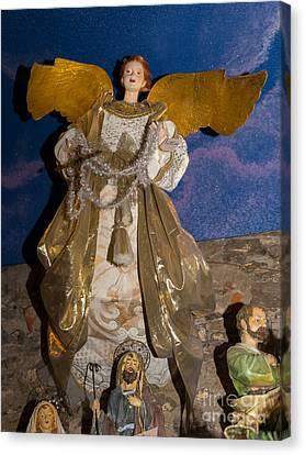 Angel In Petaluma California Usa Dsc3766 Canvas Print by Wingsdomain Art and Photography