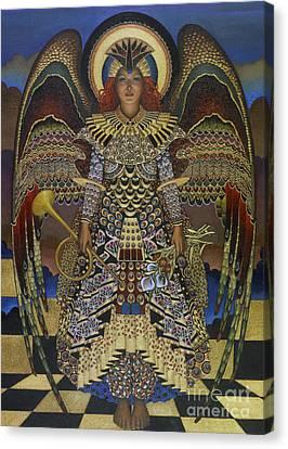 Angels Watching Canvas Print - Angel by Jane Whiting Chrzanoska