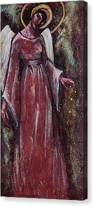 Angel Judy Canvas Print by Mary DuCharme