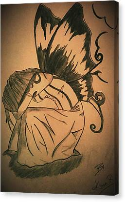 Kiran Kumar Canvas Print - Angel by Kiran Kumar