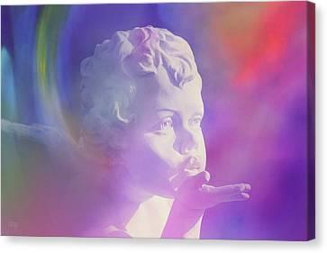 Angel Kisses Canvas Print