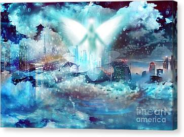 Angel Canvas Print by LDS Dya