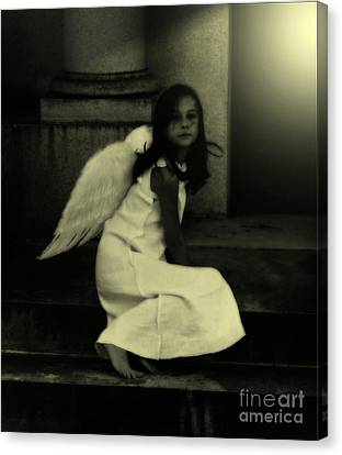 Angel Light Canvas Print by Holly Ethan