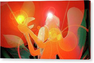 Angel-light No. 01 Canvas Print by Ramon Labusch