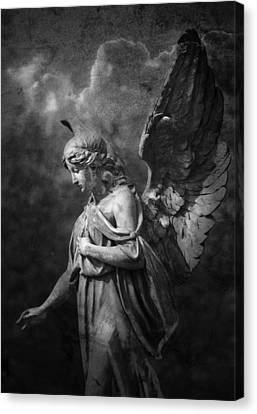 Angel Canvas Print by Marc Huebner