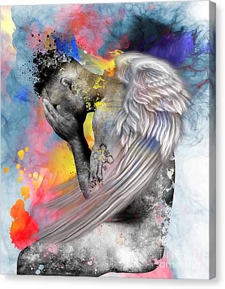 Angel  Canvas Print by Mark Ashkenazi