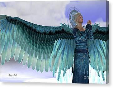 Angel Michael Canvas Print