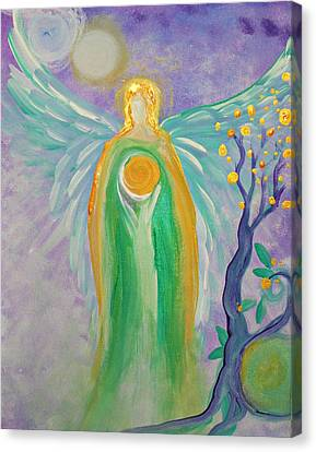 Angel Of Acceptance Canvas Print