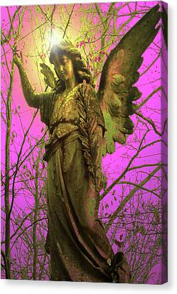 Angel Of Bless No. 02 Canvas Print by Ramon Labusch
