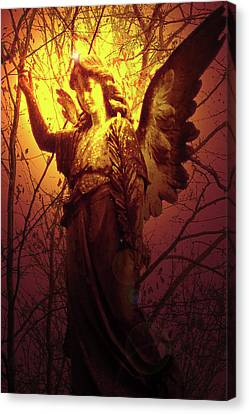 Angel Of Bless No. 03 Canvas Print by Ramon Labusch