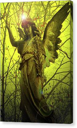 Angel Of Bless No. 04 Canvas Print by Ramon Labusch