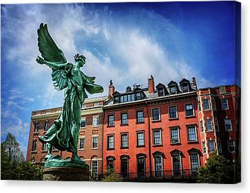 Angel Of Boston  Canvas Print