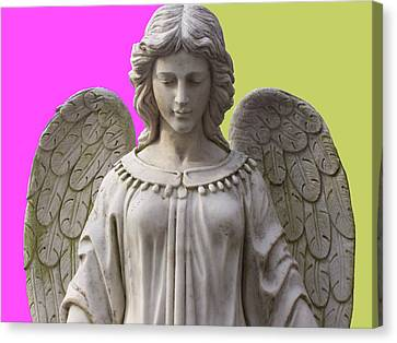 Angel Of Devotion No. 03 Canvas Print by Ramon Labusch