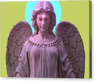Angel Of Devotion No. 04 Canvas Print by Ramon Labusch