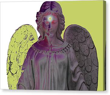 Angel Of Devotion No. 06 Canvas Print by Ramon Labusch