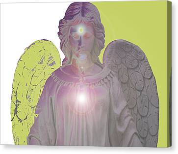 Angel Of Devotion No. 09 Canvas Print by Ramon Labusch