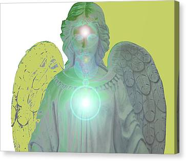 Angel Of Devotion No. 10 Canvas Print by Ramon Labusch