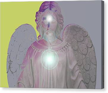Angel Of Devotion No. 11 Canvas Print by Ramon Labusch