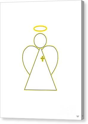 Angel Of Faith Canvas Print