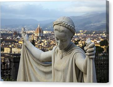 Angel Of Firenze Canvas Print