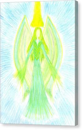 Angel Of Generosity Canvas Print by Konstadina Sadoriniou - Adhen