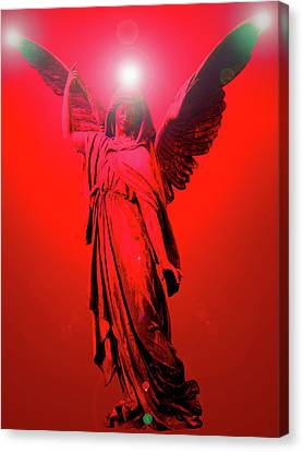 Angel Of Harmony No. 03 Canvas Print by Ramon Labusch