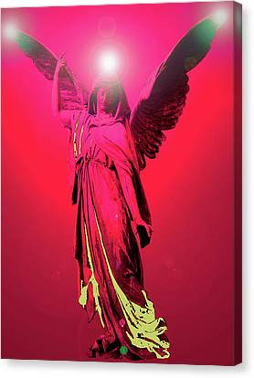 Angel Of Harmony No. 04 Canvas Print by Ramon Labusch