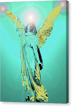 Angel Of Harmony No. 05 Canvas Print by Ramon Labusch