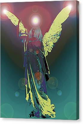 Angel Of Harmony No. 06 Canvas Print by Ramon Labusch