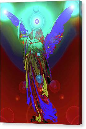 Angel Of Harmony No. 07 Canvas Print by Ramon Labusch
