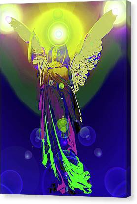 Angel Of Harmony No. 09 Canvas Print by Ramon Labusch