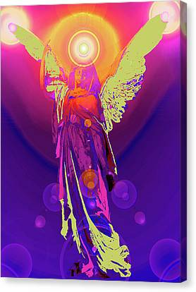 Angel Of Harmony No. 10 Canvas Print by Ramon Labusch
