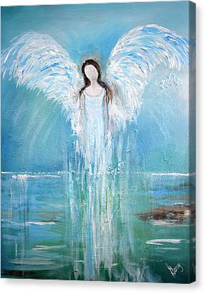 Angel Of His Nature Canvas Print