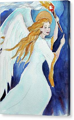 Angel Of Illumination Canvas Print