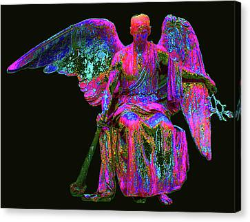 Angel Of Justice No. 01 Canvas Print by Ramon Labusch