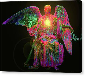 Angel Of Justice No. 03 Canvas Print by Ramon Labusch