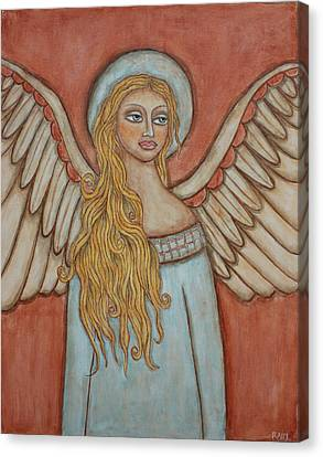 Angel Of Liberation Canvas Print by Rain Ririn