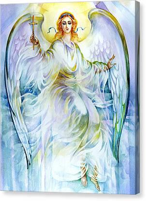 Angel Of Love Canvas Print by Karen Showell